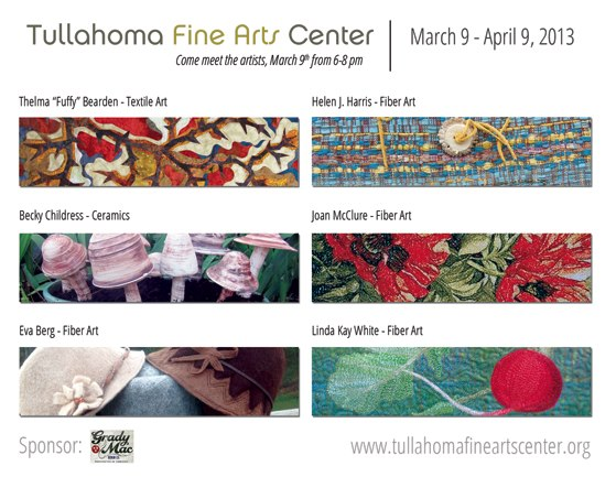 textile and clay art exhibit - tullahoma tn