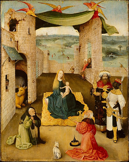 OUR NOVEMBER GRANT CLASS!  Oh My Gosh!  It's  Hieronymous Bosch!