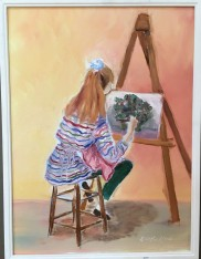 Art Class by Dennis Lankford $75
