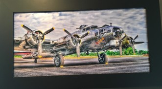 B-17 Bomber by Ron Macalaso $175