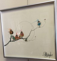 Birds on a Wire Print by Hal Broyles $150