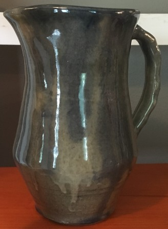 Blue Green Pitcher by Wesley Smith $30