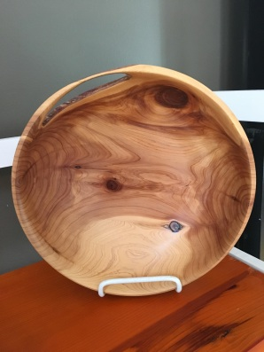 Cedar Bowl by Vince Zaccardi $45