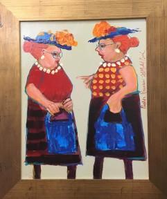 Church Ladies by Michael Bush $250