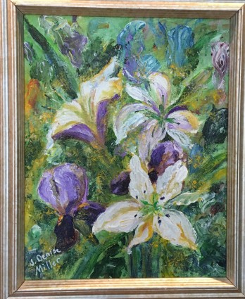 Floral Fantasy by J. Denise Miller $65