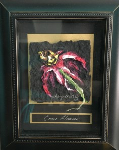 Floral Pulp Painting by Chery Cratty $99 (2)