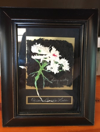 Floral Pulp Painting by Chery Cratty $99 (3)