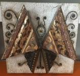 Floral Spoon Butterfly by Maxine Fandrich $50