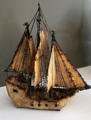 Handmade Ship by S. Perkins $100 (2)