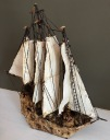 Handmade Ship by S. Perkins $100