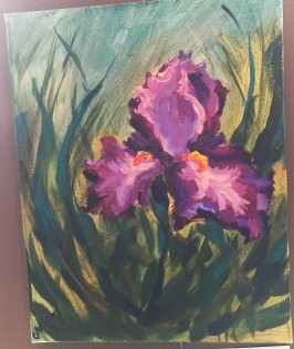 Iris Solo by Melissa Thompson $75