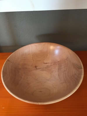 Maple Bowl by Vince Zaccardi $35