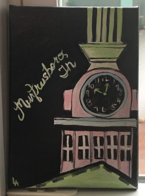 Murfreesboro Courthouse by Lynn Anthony $25