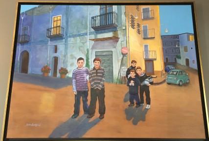 Nocera Futbol by Dennis Lankford $1,000