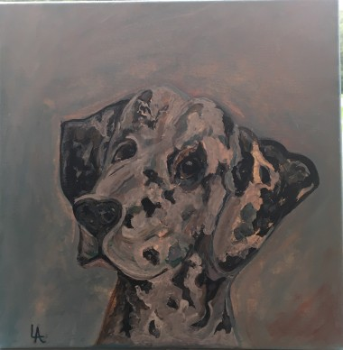 Pongo by Lynn Anthony $25