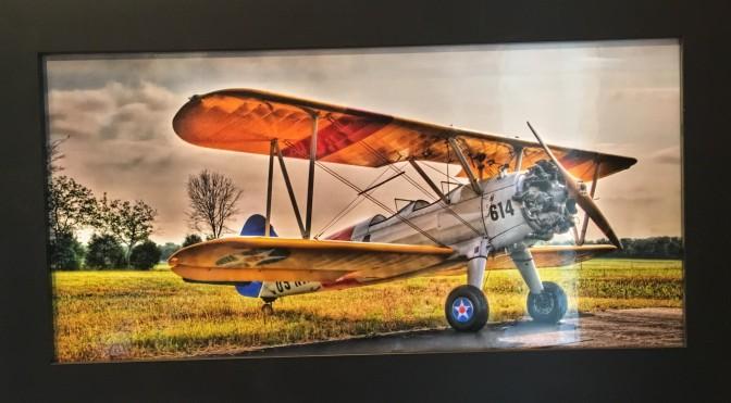 Stearman Biplane by Ron Macalaso $175