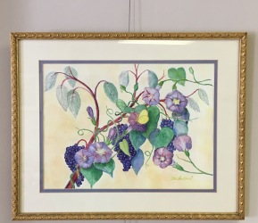 Summer Inkberries by Dennis Lankford $125