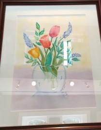 Tulips by Brenda Jean Massari $65