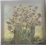 Vase of Daisies by Lynn Anthony $30