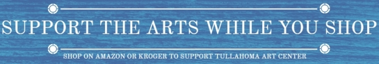 SUPPORT THE ARTS WHILE YOU SHOP