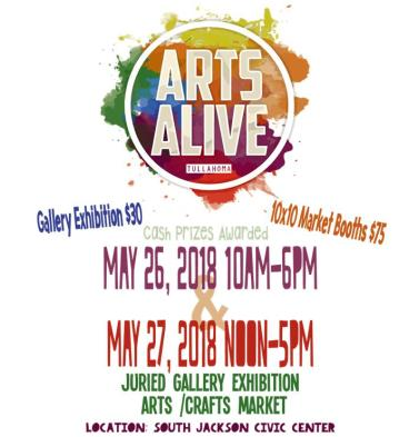 Arts Alive Flyer