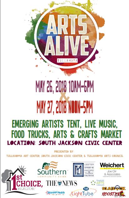 Arts ALive Final Flyer